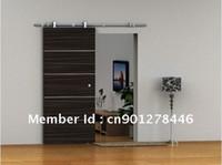 Wholesale European Modern SLIDING BARN DOOR HARDWARE for WOOD DOOR TOP HANGER STYLE
