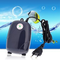 Wholesale New W V Piscine Aquariums Accessories Aquarium Air Pumps Ultra Silent High Output Energy Efficient Fish Tank Oxygen Airpump