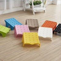 Wholesale Single color simple shoe rack The square plastic shoes that occupy the home receive shoe rack