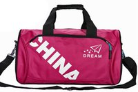 advertising packaging bag - New Factory direct sales travel bag male outdoor gym bags Advertising package barrels pack his sports bag
