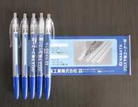 banner promotion - Custom promotion flag banner pen Love Flag ballpoint pen blue mm FreeShipping Stationery pen