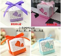 party supplies - Colorful Decor Paper Gift Candy Favours chocolate Favor Boxes Wedding Party Supplies