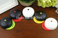 baseball cap case - Freeshipping by DHL Fedex New Fashion Baseball Cap contact lenses box Hat contact lens case lens Companion box