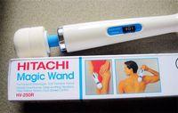 Wholesale Hot sale Hitachi Magic Wand Massager AV Vibrator Massager Personal Full Body Massager HV R Electric Massager US EU AU UK Plug Promotion