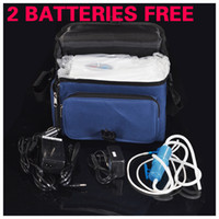 Wholesale Portable oxygen concentrator oxygen generator oxygen BAR Travel car battery Mini rechargeable lithium battery for lung disease With Car