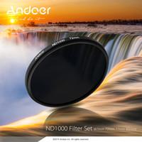 Wholesale Andoer mm ND1000 Stop Fader Neutral Density Filter for Nikon Canon DSLR Camera D2310