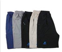 Wholesale Summer thin section men five pants stretch cotton