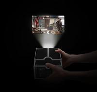 achat en gros de portable à portée de main-Nouveauté 2015 DIY Selfmade Handy Beamer Carton Mini Smartphone projecteur Lumière Projecteur de téléphone portable réglable Portable Cinema