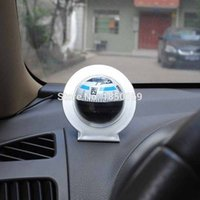ball bearing guide - Mini Portable Pocket Compass For Car vehicle borne type Guide the ball Camping Hiking Navigation Outdoor Compass