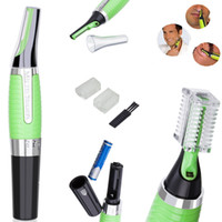 Wholesale Micro Epilator Touch Max Personal Ear Nose Neck Eyebrow Hair Trimmer Groomer Remover Lighted electric hair cutter repair