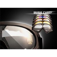Wholesale 2015 Professional X400 ski glasses cycling goggles PC UVA UVB protection ANSI Z87 strandard colors optional