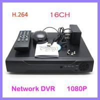 al por mayor sistema de cámaras de seguridad del registrador dvr-H.264 16CH Linux cámara de seguridad CCTV Sistema Red DVR HDMI 1080P 400 / 480fps Soporte HD VGA BNC Simultáneamente salida