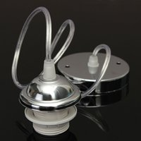 Wholesale Ceiling Pendant Lamp Holder E27 Screw Type Bulb Lighting Accessories DIY Pendant