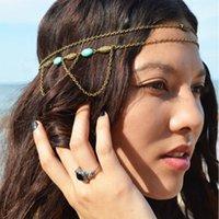 Cheap vintage women headbands Best bohemia women hair accessories
