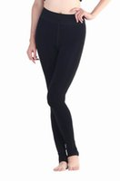 Wholesale Trendy Women Carla Velvet Slim Stretch Leggings High Waist Tights Thicken Warm Trample Feet Pants Leggings DOC3