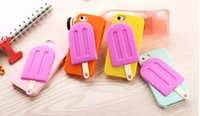 lollies - hot cell phone case skin ice lolly summer silicone cover case for iph