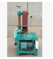 belt sandpaper - Promotions vertical belt machine polishing machine sandpaper machine grinding machine sander flat full copper motor