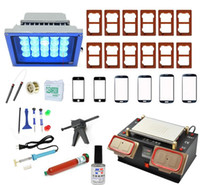 Wholesale 2016 Latest Tools Full Set in Built in Vacuum Pump LCD Touch Screen Separator Middle Bezel Frame Separate Split Repair Machine