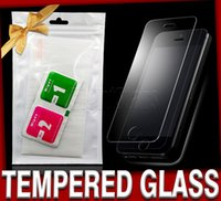 Wholesale For iphone s plus Plus mm D H Premium Tempered Glass Film Screen Protector Explosion Proof Guard for galaxy s6 nokia