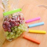Wholesale Sealing Clips Seal Clamp Plastic Bags Ziplock Clip Home Food Storage Helper x cm Large Food Snack Bag Storage