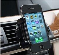 Teléfono universal Soporte para coche Car Holder Gadget Accesorios coche Interior del coche salida de aire del teléfono celular móvil Monte