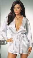 Wholesale Satin Robe Pajamas Silk Robes For Women Bathrobe Dressing Gown Negligee