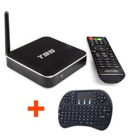 android keyboard apk - 10pcs Original Android TV Box T95 with fly air mouse keyboard Amlogic S905 GB GB Quad Core Full Loaded APK ADD ONS Android TV