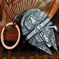 Wholesale keychain Bottle Opener Star Wars Millennium Falcon Metal Keyring Keychain