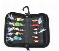 Wholesale Hot Lure Spoon bags Hard Baits Bags Flys bait Bags Hard bait bag Easy to carry High quality