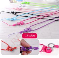 Wholesale High Quality Colorful ABS Ribbon Universal Lanyards Neck Lanyard Long Straps Hang Rope for MP3 Mp4 ID Holder Mobile Phone Cellphone