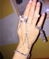 Wholesale Letters Bracelet Sterling Silver Jewelry For Lady LOVE Letter Bracelet