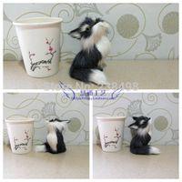 auto fur - Fur toy real fur fox apotropaic auto upholstery decoration dolls home decoration gift
