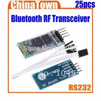 Wholesale HC Wireless Serial Pin Bluetooth RF Transceiver Module RS232 TTL New for Arduino Free Express order lt no track
