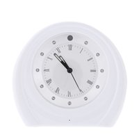 Wholesale Night Vision Table top Monitor Clock WiFi Camera P2P Home Security Android IOS for iPhone Plus Samsung HTC Xiaomi Phone