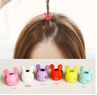 Wholesale Rabbit Cat Baby barrettes new Europe and cute girls children sequins hairpin hair jewelry