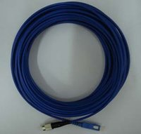 armored cable - Fiber Optical Armored Patch Cord Cable SC FC Singlemode Simplex mm m Blue Jacket