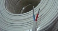 aluminum conductor - BLVVB2 mm2 PVC insulated PVC sheath flat cable Pure Aluminum Conductor