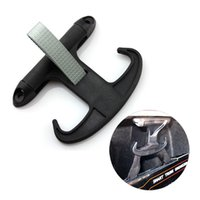 Wholesale High Quality Ox Horn Shape Hook Hanger Trunk Hanger With Screws Car Accessories