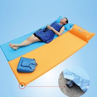 car mat - BlueField Automatic inflatable Camping Mat Waterproof Baby Climb Blanket Outdoor Sandbeach Camping Picnic Mat Moistureproof Y1462