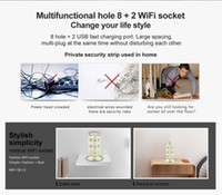 Wholesale Fashional Wifi Socket Duel USB Charge Port mbps Wifi Router repeater Bit Power Jack Eu Power Plug VONETS WiFi SB L3