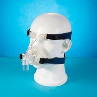 liquid silicone - Homecare Liquid Silicone CPAP Auto CPAP BiPAP Respirator Ventilator Part Nasal Mask with Headgear for Sleep Apnea
