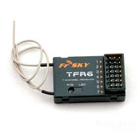 Wholesale FrSky TFR6 Ch FASST Compatible Receiver