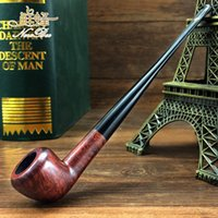 Cheap Wholesale-New bee briar handmade wooden 3200 Small smoking pipe polo straight shank briar tobacco