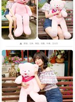 Wholesale bag pp cotton us popular m accompany sleep giant teddy bear baby plush doll girl couples birthday gift toy