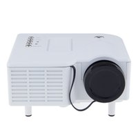 Wholesale UC28 LED Mini Portable Home Theater Video Projector PC Laptop VGA USB SD AV with retail package