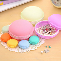 Wholesale Mini teddy Macaron storage box Candy organizer for jewelry zakka Gift Novelty households