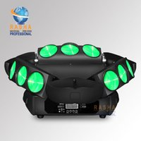 Wholesale Rasha Chaos Three Heads W in1 RGBW LED Spider Light Triangle DMX512 Pixel LED Spider Beam For Stage Event Party CH