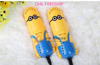 Cheap Minions Portable Shoe Dryer Best Electric Shoes Warmer