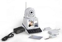Wholesale H PT30 Wireless IP Camera Wifi Mobile Phone Network Video Surveillance Remote Video Chatting Wireless Alarm Remote Monitor