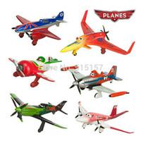 airplane training - 6pcs set pixar planes dusty planes ishani skipper Ripslinger airplane plane model gifts doll classic toys for children